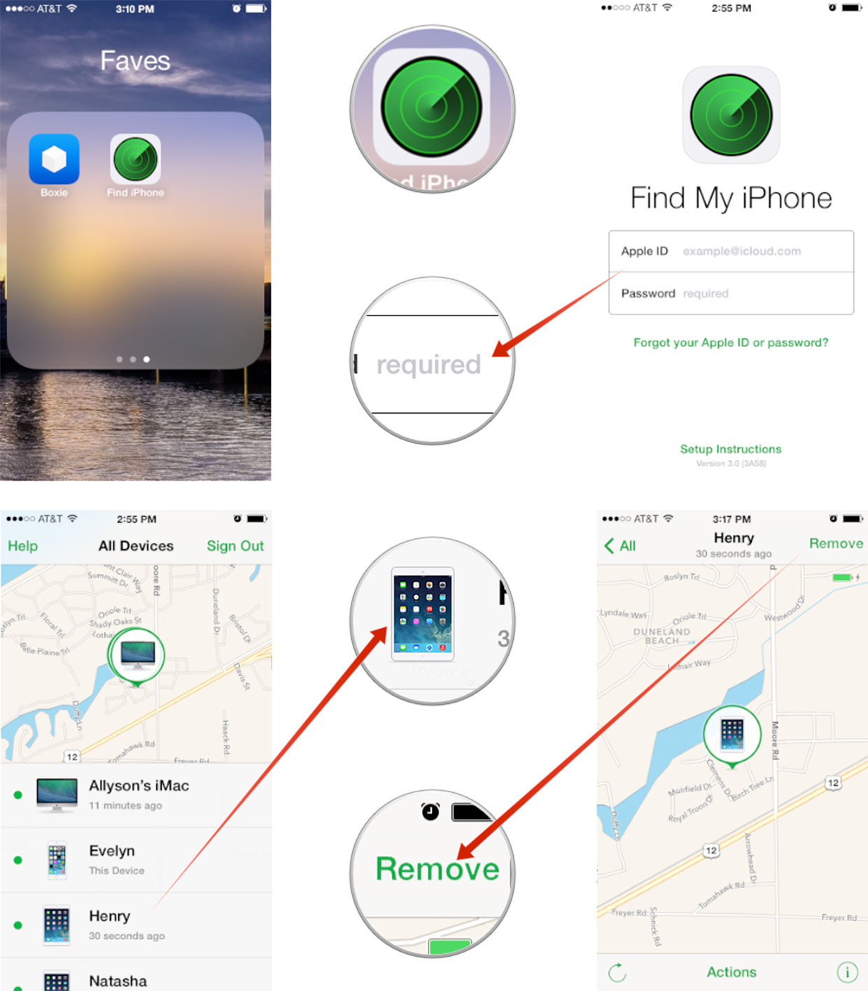 how to find the model of my iphone 6