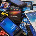 Pile of smart phones