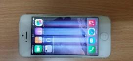 Hướng dẫn phương pháp khắc phục màn hình iPhone 5 bị sọc