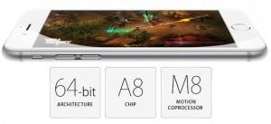 Chip a8 trên iPhone 6