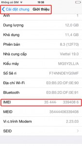 check imei iPhone 6