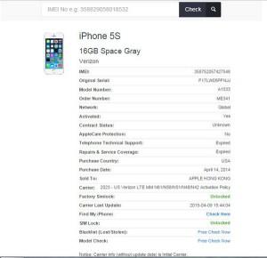 iPhone 5s bản quốc tế