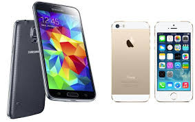 iPhone 5s và galaxy S5.2
