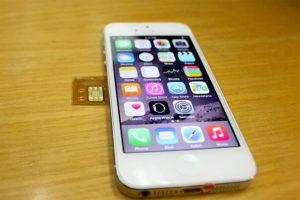 iphone 5 lock nhật