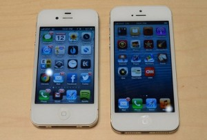 iphone 5 và iphone 4s