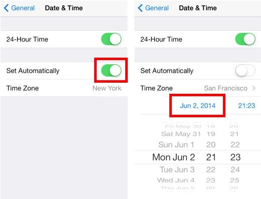 cách hẹn giờ tự động gửi tin nhắn trên iphone 6 plus cũ.2