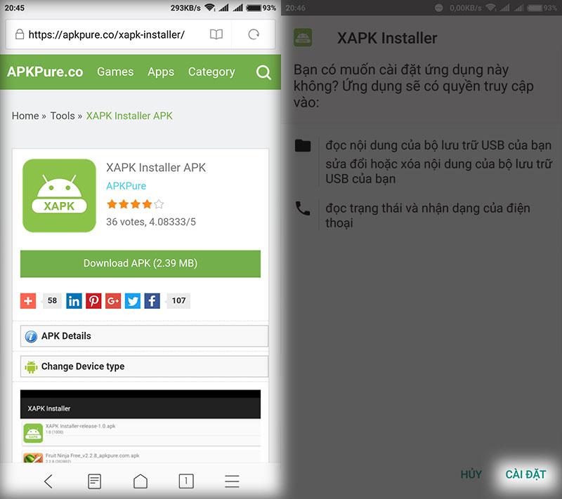 Cách cài đặt file xapk trên Android cực dễ chỉ với 4 bước đơn giản hình 3