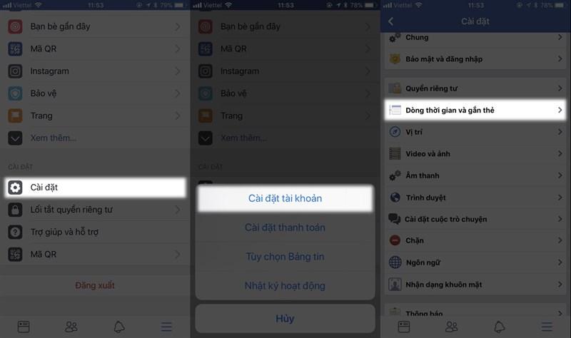 Cách chặn không cho tag trên Facebook xuất hiện lên Tường của bạn hình 2