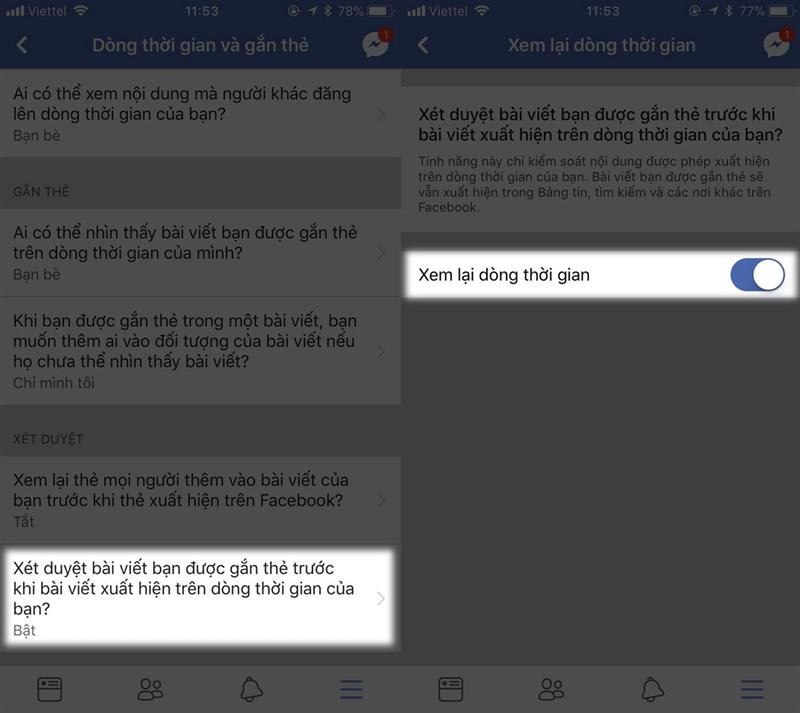 Cách chặn không cho tag trên Facebook xuất hiện lên Tường của bạn hình 3
