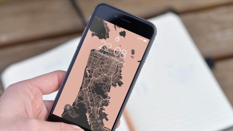 Cách tạo hình nền bản đồ chi tiết khu vực bạn sống cho smartphone hình 1