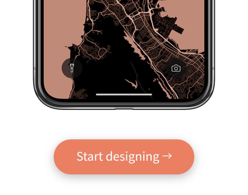 Cách tạo hình nền bản đồ chi tiết khu vực bạn sống cho smartphone hình 2