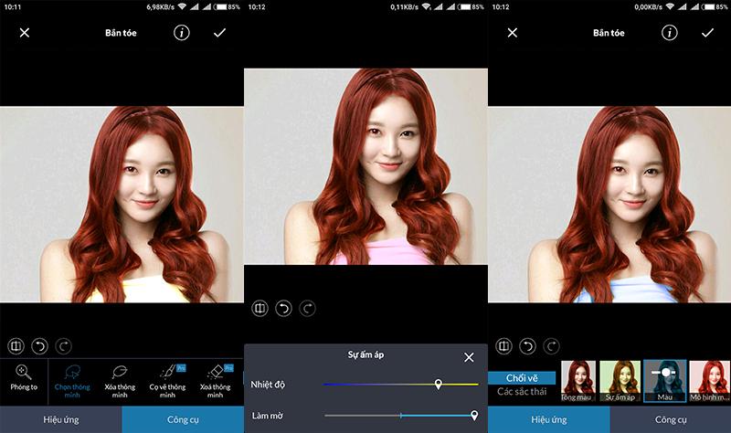 Thay đổi màu sắc ảnh trên Android với ứng dụng chỉnh sửa ảnh LightX hình 10