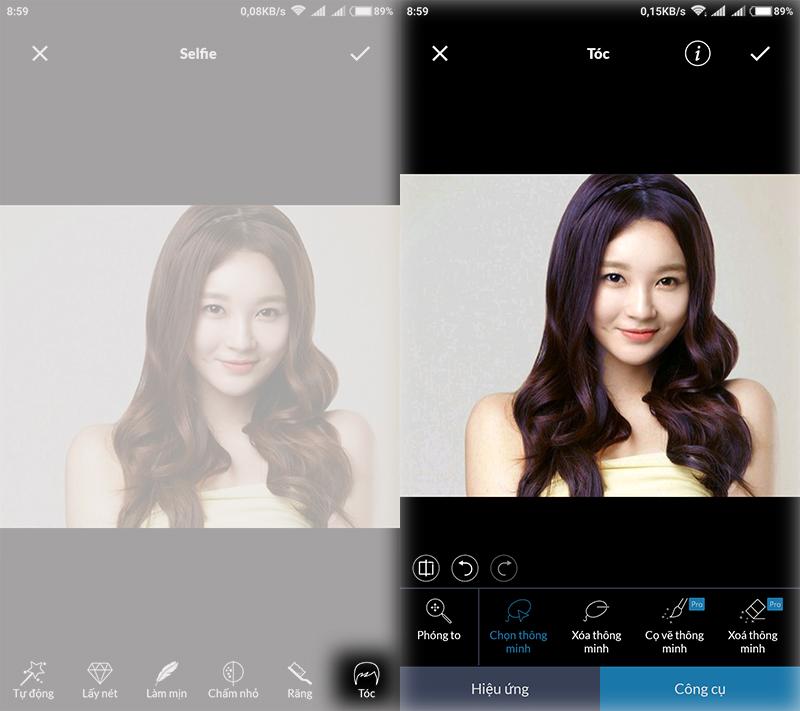 Thay đổi màu sắc ảnh trên Android với ứng dụng chỉnh sửa ảnh LightX hình 4