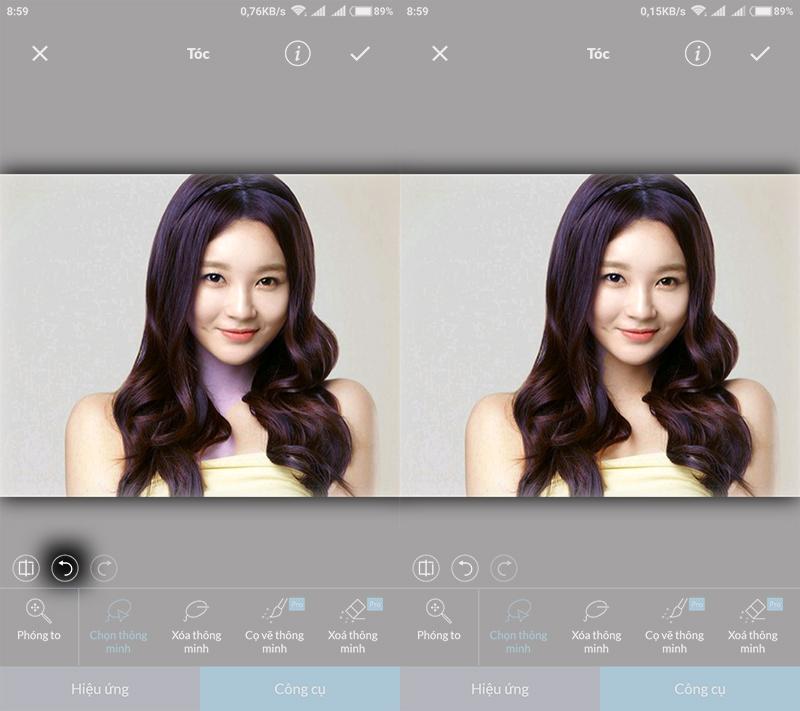 Thay đổi màu sắc ảnh trên Android với ứng dụng chỉnh sửa ảnh LightX hình 5