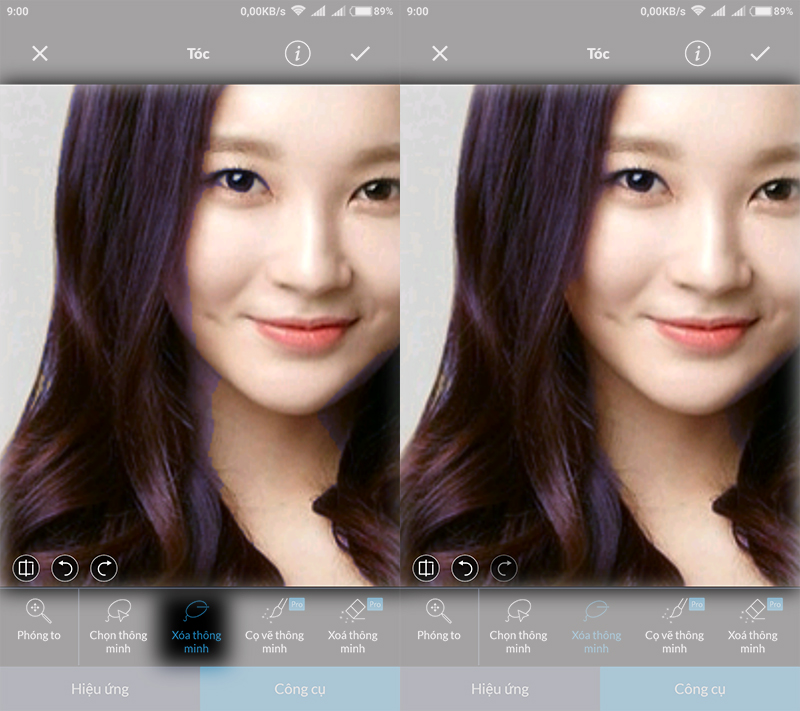 Thay đổi màu sắc ảnh trên Android với ứng dụng chỉnh sửa ảnh LightX hình 6