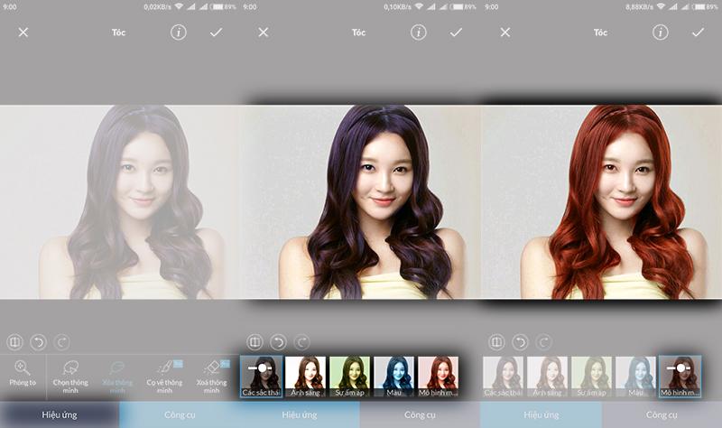 Thay đổi màu sắc ảnh trên Android với ứng dụng chỉnh sửa ảnh LightX hình 7