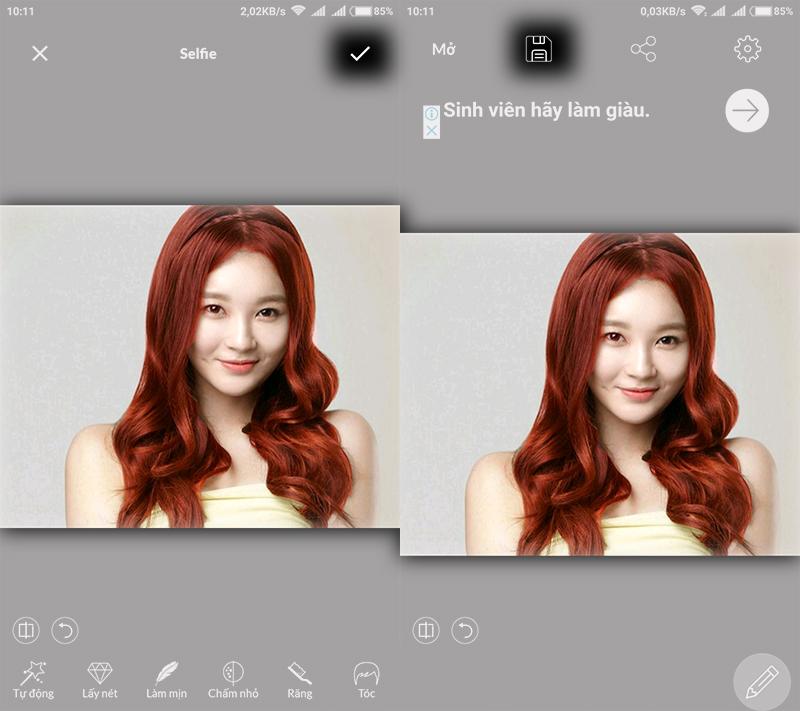 Thay đổi màu sắc ảnh trên Android với ứng dụng chỉnh sửa ảnh LightX hình 8