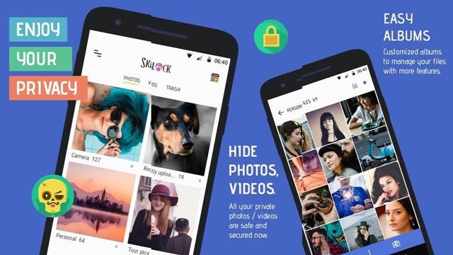 Lưu ảnh và video riêng tư trên Android với thư mục bảo mật Skullock hình 2