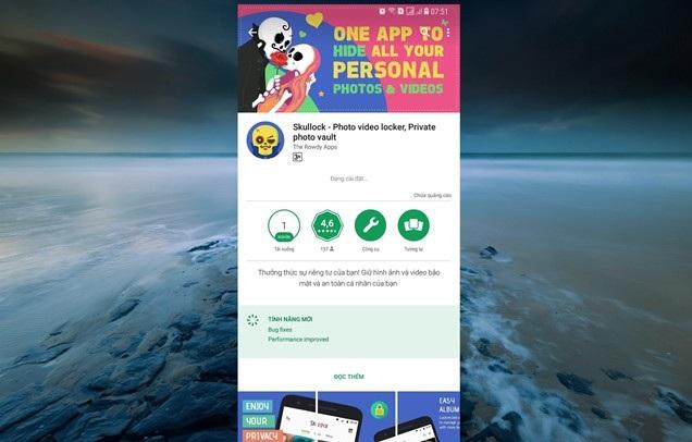 Lưu ảnh và video riêng tư trên Android với thư mục bảo mật Skullock hình 3