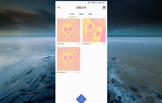 Lưu ảnh và video riêng tư trên Android với thư mục bảo mật Skullock hình 8