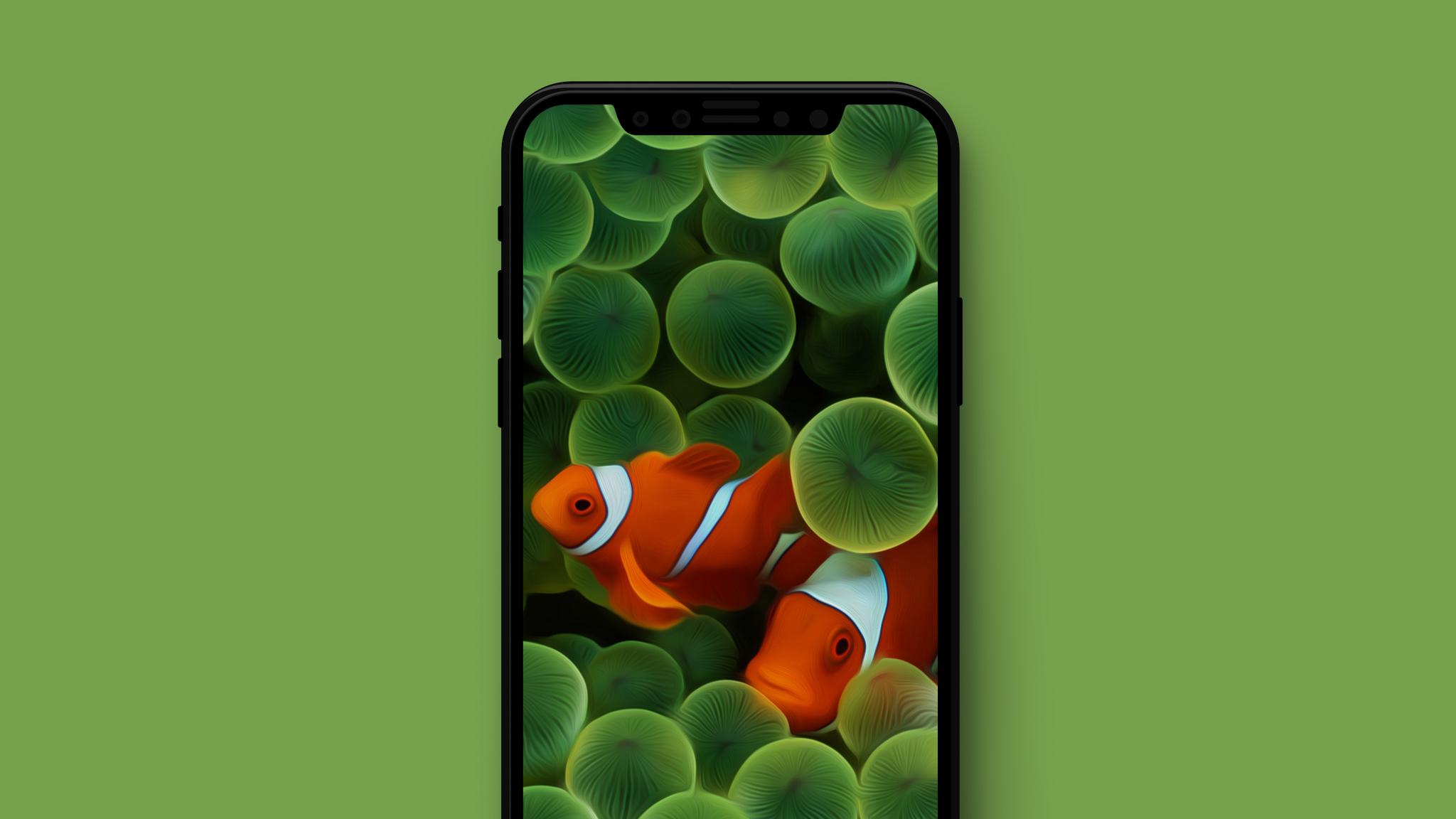 Hướng dẫn sử dụng hình nền của iPhone X cho các dòng iPhone khác hình 1