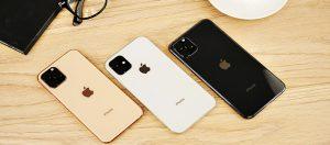 bộ ba sản phẩm iPhone 11