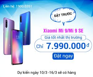 Đặt ngay Xiaomi Mi 9 tại 24hStore
