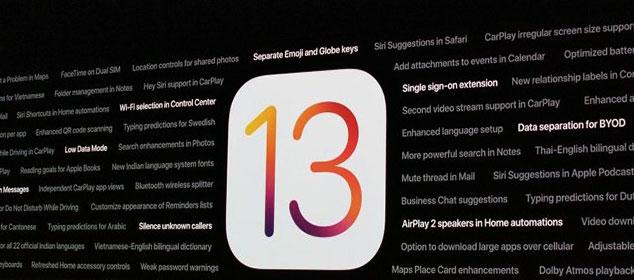 cập nhật phiên bản iOS 13.1.3