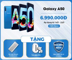 Đặt mua Samsung Galaxy A50 tại 24hStore.vn